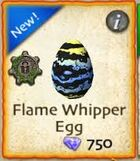 Flame Whipper egg