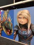 Astrid httyd 3 poster