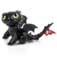 Defenders of Berk Mini Dragons, Toothless Night Fury