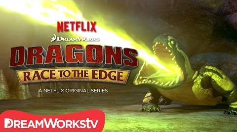 New Dragon Revealed Cavern Crasher DRAGONS RACE TO THE EDGE