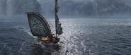 Eret's damaged sail
