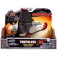 Toothless Action Figure Catapult Tail Action Power Dragons