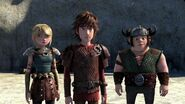 Hiccup telling his observation about Fishlegs' illness
