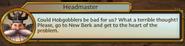 Headmaster is Suspicious of Hobgobblers