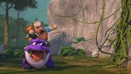 GOH - Burple avoiding the Tangle vines