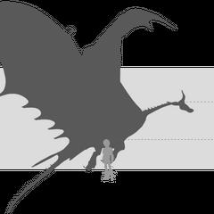 Tamaño de un Tifómerang comparado al de Hipo
