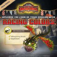 Whispering Death Racing Color