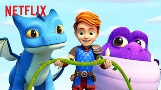 Dax, Winger and Burple Land in Trouble! 🐲 Dragons Rescue Riders Netflix Jr