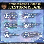 Icestorm Island guide