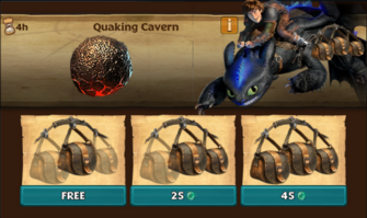 Quaking Cavern (Thunderpede)