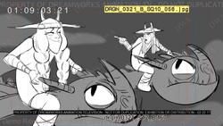 Triple Cross Storyboard 27
