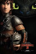 Hiccup HTTYD2 poster