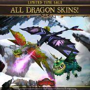 SoD-Dragon Skins Sale