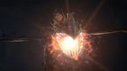 Stormfly illuminates the cave
