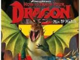 How To Train Your Dragon Mix and Match Book