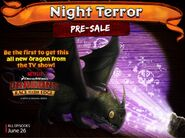 Night Terror RoB Promo