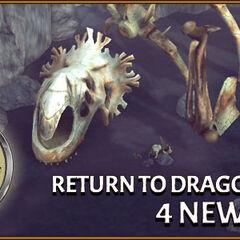 Huesos de Muerte Roja en Escuela de Dragones