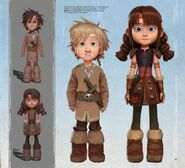 The Art of How to Train Your Dragon The Hidden World - 151