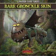 Gronckle Rock Moss Skin