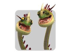 Dragon Icon-Barf and Belch