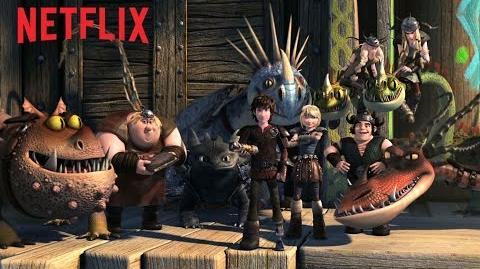 DreamWorks Dragons Race to the Edge Teaser - Netflix HD