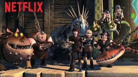 DreamWorks Dragons Race to the Edge Teaser - Netflix HD