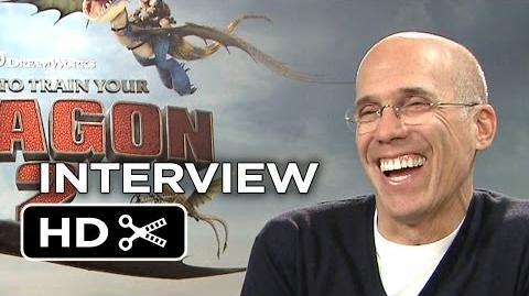 How To Train Your Dragon 2 Interview - Jeffrey Katzenberg (2014) - DreamWorks Animation Sequel HD