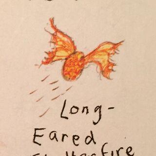 Huevo del Long-Eared Flutterfire