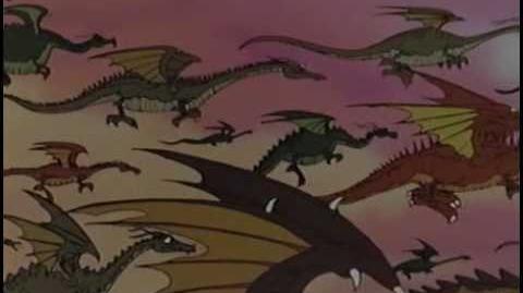 "Clip from ""Flight of Dragons"""