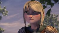 No Dragon Left Behind Astrid crying