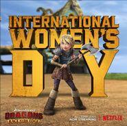 International women's day rttes6 promo