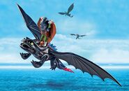 Playmobil-Hiccup-Toothless