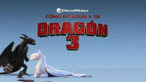 HOW TO TRAIN YOUR DRAGON THE HIDDEN WORLD SPANISH TV SPOT