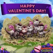 ROB-Dronkeys Valentine Ad