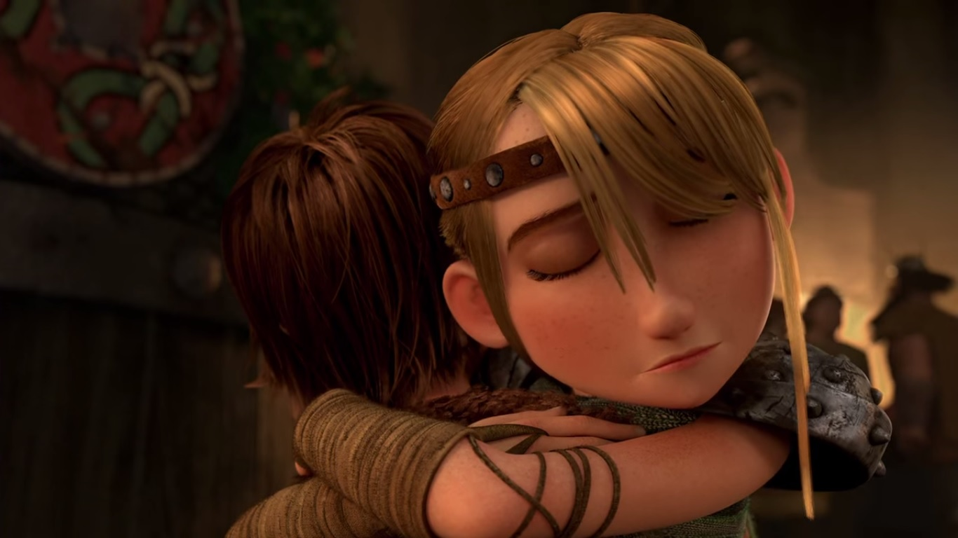Image astrid hugging hiccup gotnfg how to train your dragon astrid hugging hiccup gotnfg ccuart Image collections