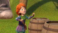 BE - Leyla seeing the jar of slinkwing goo headed towards her diary