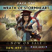 Wrath of Stormheart Promo