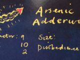 Arsenic Adderwing