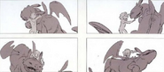 Hiccup Toothless Storyboard