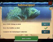 ROB-Submaripper Unlock Requirements