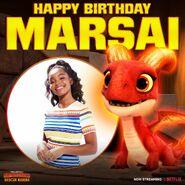 Happy Birthday, Marsai Martin
