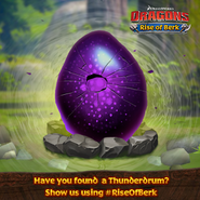 Thunderdrum Egg Hatching