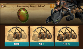 Screaming Death Island (Hideous Zippleback)