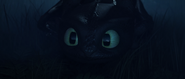 Toothless seeing the Light Fury for the first time