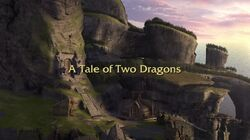 A Tale of Two Dragons title card