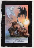HTTYD-Hidden World Poster Struzan