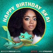 Happy Birthday Skai Jackson