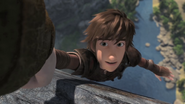 Hiccup helped to prevent the falling