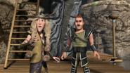 Ruffnut and Throk hear Tuffnut's scream