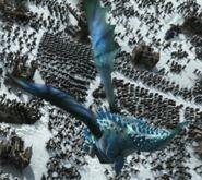 Blue unknown dragon